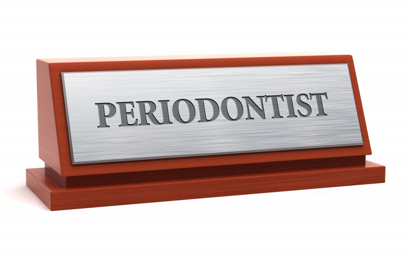 Plaque for a periodontist in Frisco.